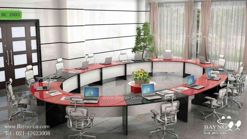 میز کنفرانس لوکس-میز کنفرانس-سالن کنفرانس-میز کنفرانس باشیشه-میز کنفرانس هایگلاس-نکاتی برای خرید مبلمان اداری