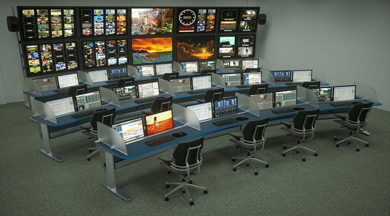 مبلمان اتاق NOC برای مرکز فرماندهی و اتاق کنترل