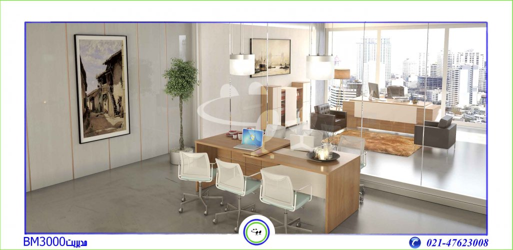 میز مدیریت مدرن و لوکس