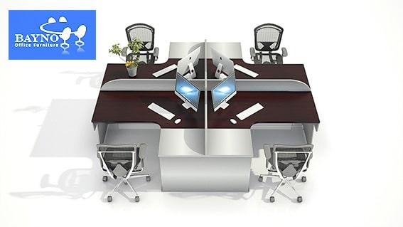 مبلمان اداری مدرن و دکوراسیون داخلی دفتر