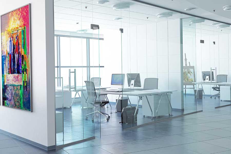 کاربردی بودن پارتیشن شیشهای در هر فضایی