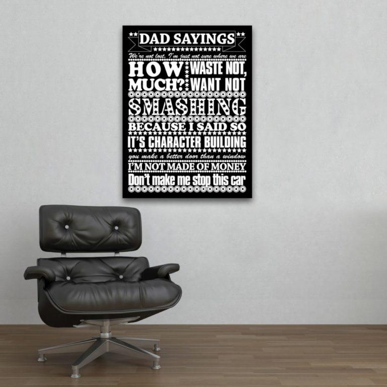 دکوراسیون دیوار دفتر کار با جملات انگیزشی