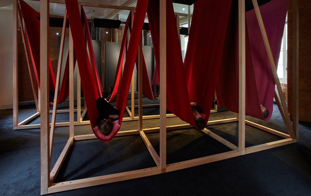 فضای استراحت در محیط کار مناسب
